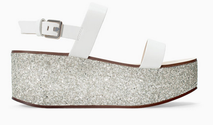 Zara Glitter Wedge $99.90