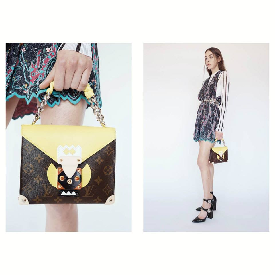 Photos by Juergen Teller for Louis Vuitton from LV Facebook Page