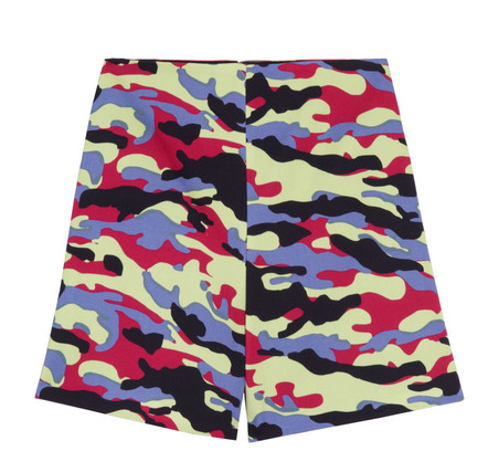 Camouflage-Print Cotton-Twill Shorts $390