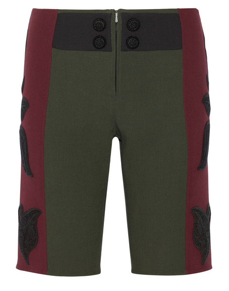 MARC JACOBS Appliquéd Wool Bermuda Shorts $1,700