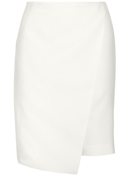 NARCISO RODRIGUEZ Wrap-Effect Wool Skirt-Shorts $1,150