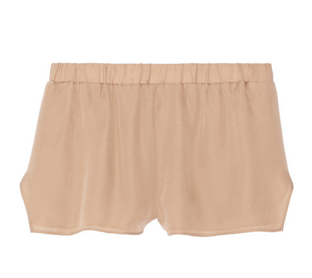 MASON BY MICHELLE MASON Washed Silk-Georgette Shorts $265