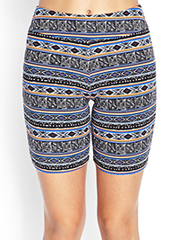 Forever 21 Printed Bike Shorts $7.80