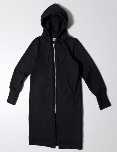 OAK Long Slouch Hoodie Black $106,40