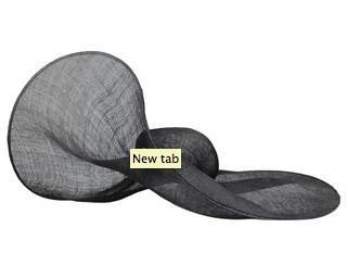 ANN DEMEULEMEESTER Oversized Paille Hat $852