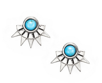 Pamela Love Sun Ray Studs in Sterling Silver $250