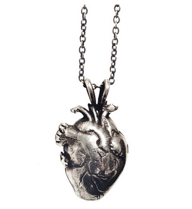 Pamela Love Human Heart Locket $650