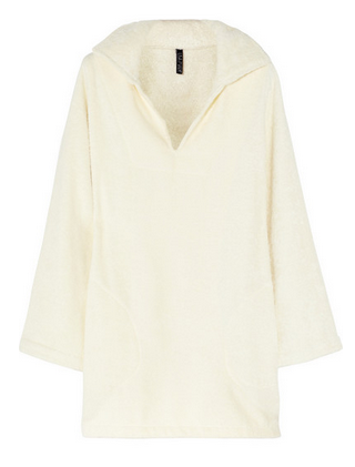 LISA MARIE FERNANDEZ Boyfriend cotton-terry beach tunic $285