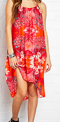 Forever 21 Floral Swim Cover Up $15.80