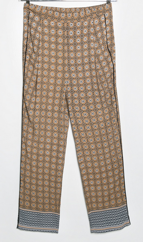 Mosaic Print Trousers $34.99