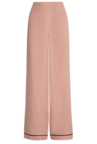 Rochas Silk Wide Leg Pants $457.50