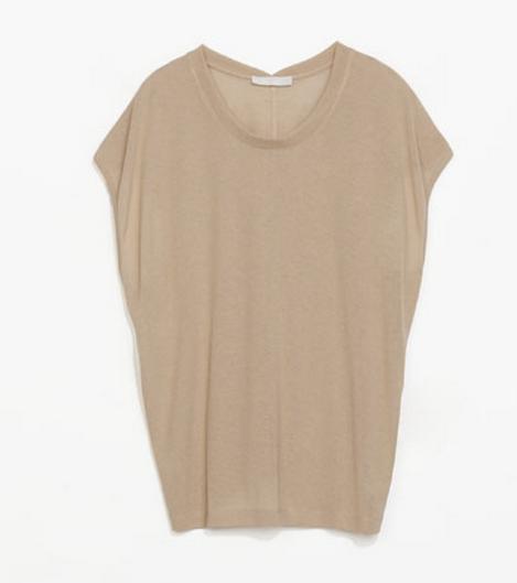 Zara Cocoon T Shirt $25.99