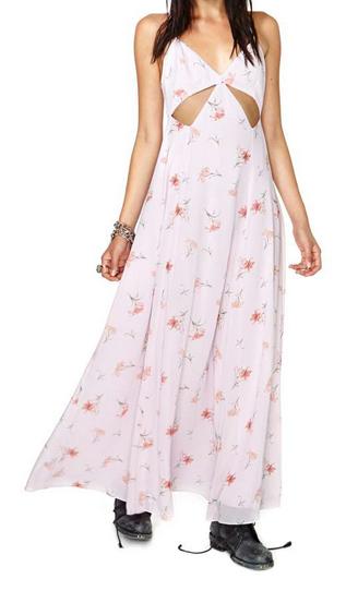 Nasty Gal Falling Lilies Maxi Dress $40.60