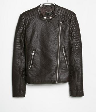 Mango Applique Biker Jacket $39.99