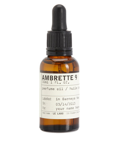 Le Labo Ambrette 9 Perfume Oil $130