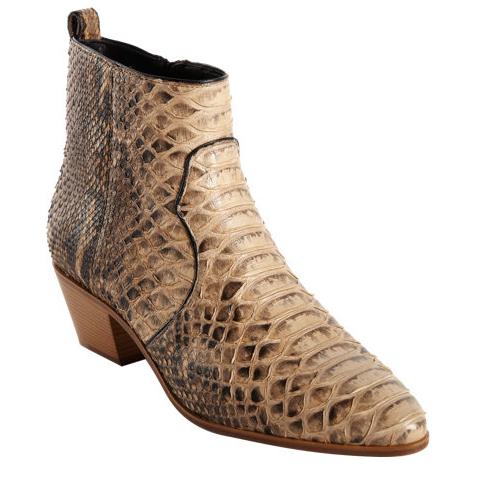 Saint Laurent Python Rocker Boot $1795