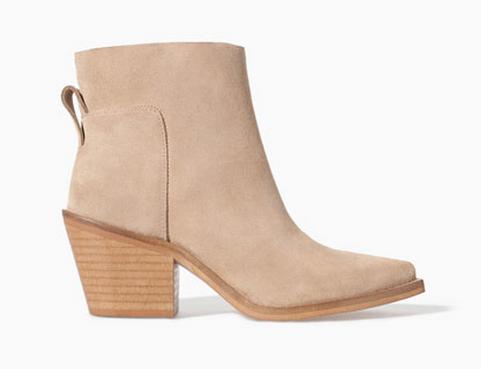 Zara Block Heel Ankle Boot $49.99