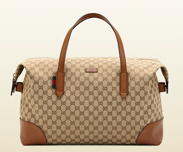 Gucci GG Canvas Carry All $870