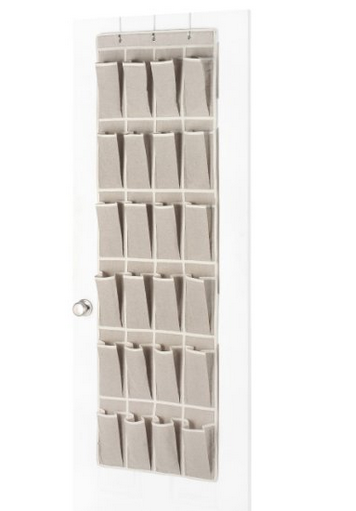 Whitmor Over The Door 12 Pair Rack $17.97
