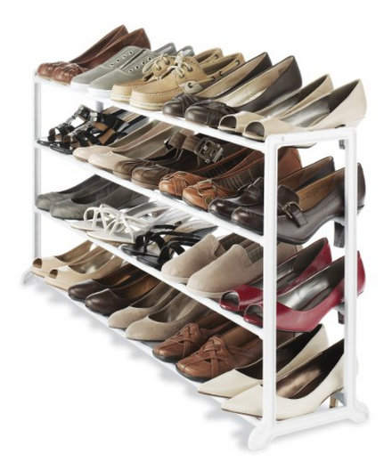Whitmor In Closet 20 Pair Rack $16.99