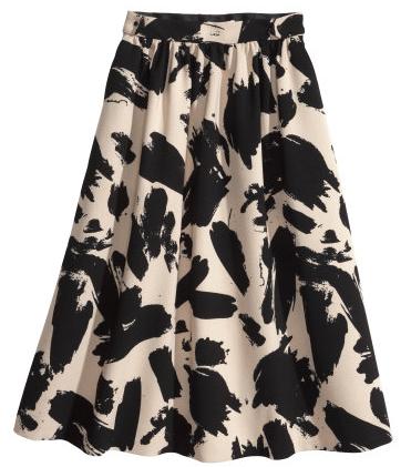 H&M Flared Skirt $59.95