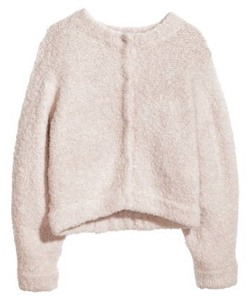 H&M Wool Puffy Cardigan $59.95