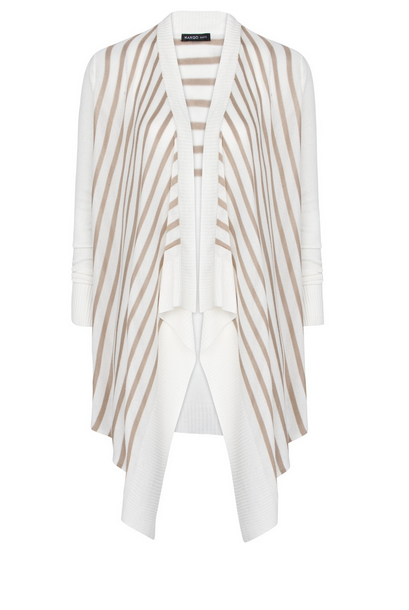 Mango Striped Cardigan $49.99