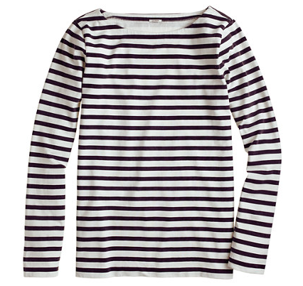 J Crew Sailor Stripe Tee $29.99