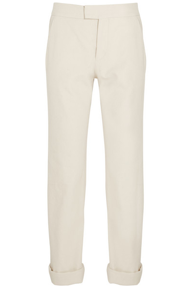 Isabel Marant Cotton Boyfriend Pants $264