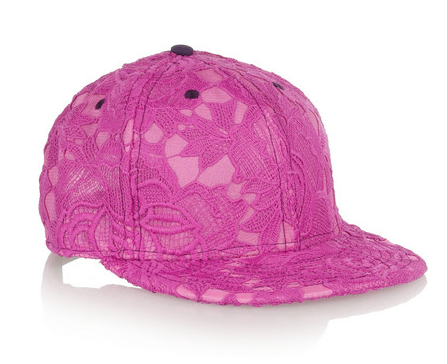 House of Holland Lace Baseball Cap $39