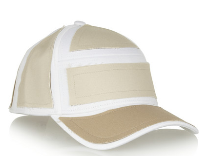 Acne Patch Cotton Twill Baseball Cap $78