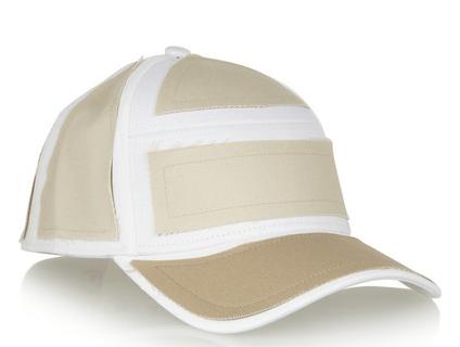 Acne Patch Cotton Twill Baseball Cap $78