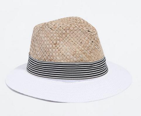 Zara Raffia Hat $25.90