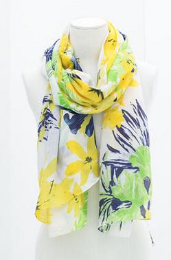 Zara Floral Scarf $25.90