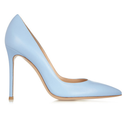 Gianvito Rossi Leather Pumps $451.50