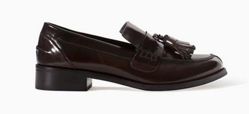Zara Tasseled Loafer $99.90