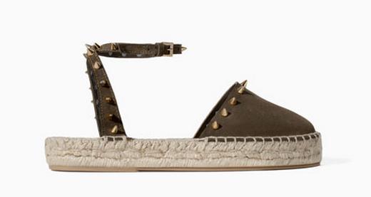Zara Studded Espadrille $79.90