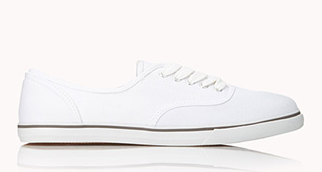 Forever 21 Classic Canvas Sneaker $12.80