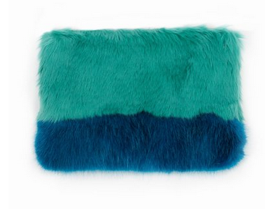 Shrimps Faux Fur Clutch $128