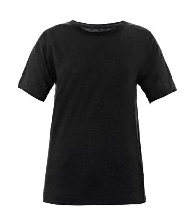 Etoile Isabel Marant Golda Linen T Shirt $180