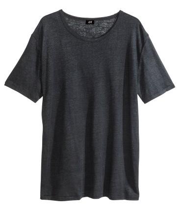 H&M Mens Linen Tee $9.95