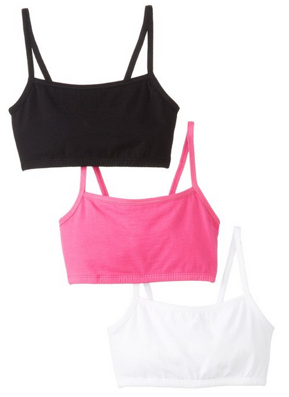 Fruit of the Loom 3 Pack Sports Bra $11-$20