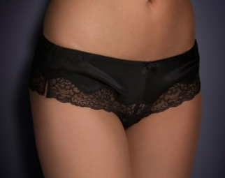 L'Agent by Agent Provocateur Satin Stretch Briefs $170