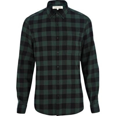 Green Flannel $30