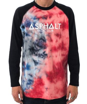 Asphalt Yatch Club Tye Dye Raglan $26.40