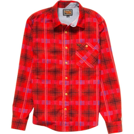 Volcom Harry Flannel Shirt - Long-Sleeve - Men's Chili Red $35.72