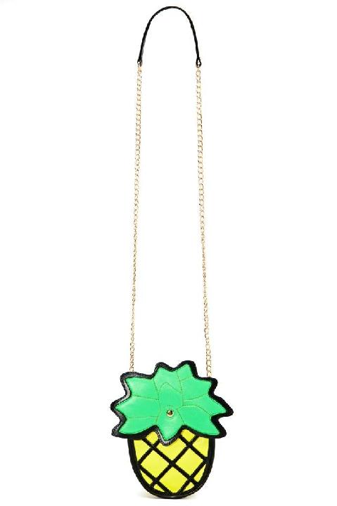 Nasty Gal Pineapple Express Bag Lyndley Trends Sally Lyndley Fashion Stylist