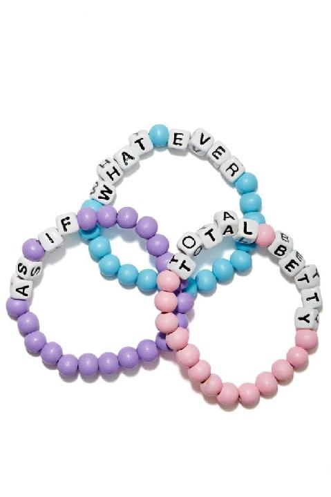 Nasty Gal Get a Clue Bracelet Set Lyndley Trends Sally Lyndley Fashion Stylist