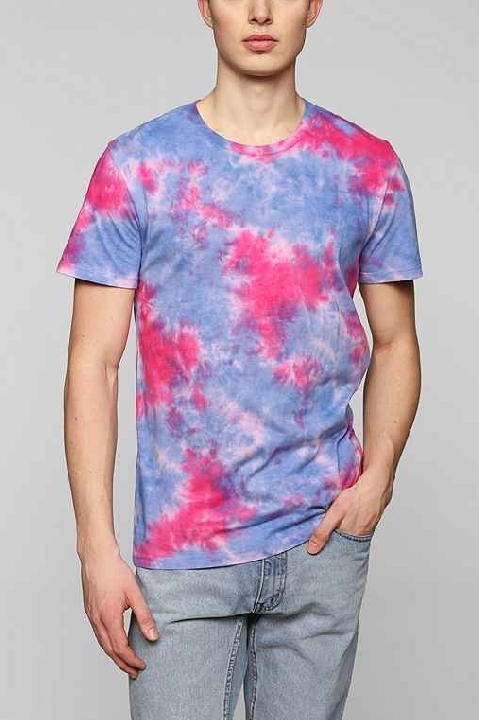 BDG Placed Tie-Dye Tee Shop With Sally Sally Lyndley Fashion Stylist