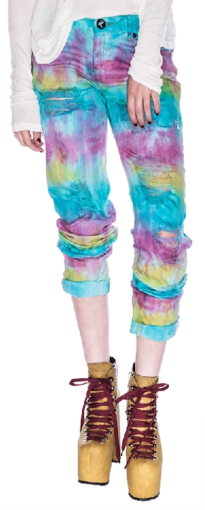 One Teaspoon Tie Dye Baggies Pants Sorbet 24 Shop With Sally Sally Lyndley Fashion Stylist